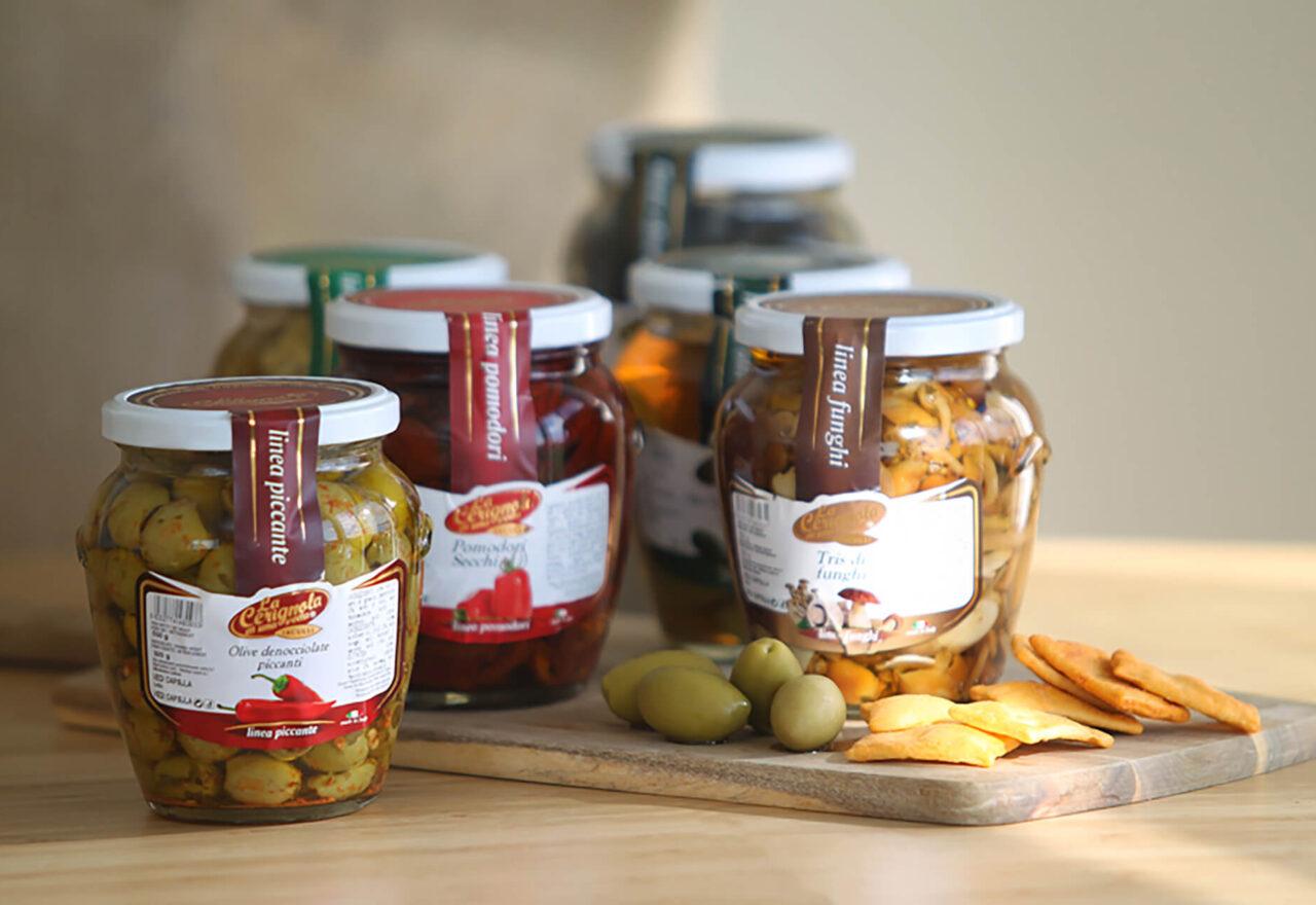 Oliven og delikatesser